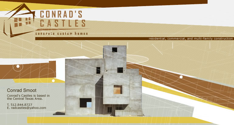 Conrad 39 S Castles Why Concrete Custom Homes Texas